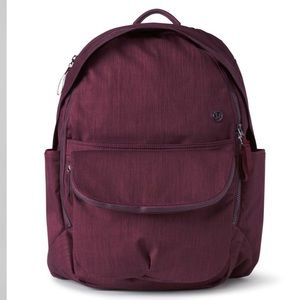 Lululemon all day backpack Bordeaux drama PERFECT